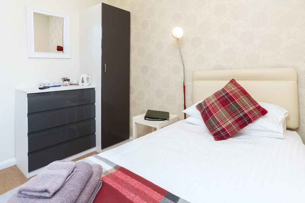 Les Cotils Guernsey - Single Room