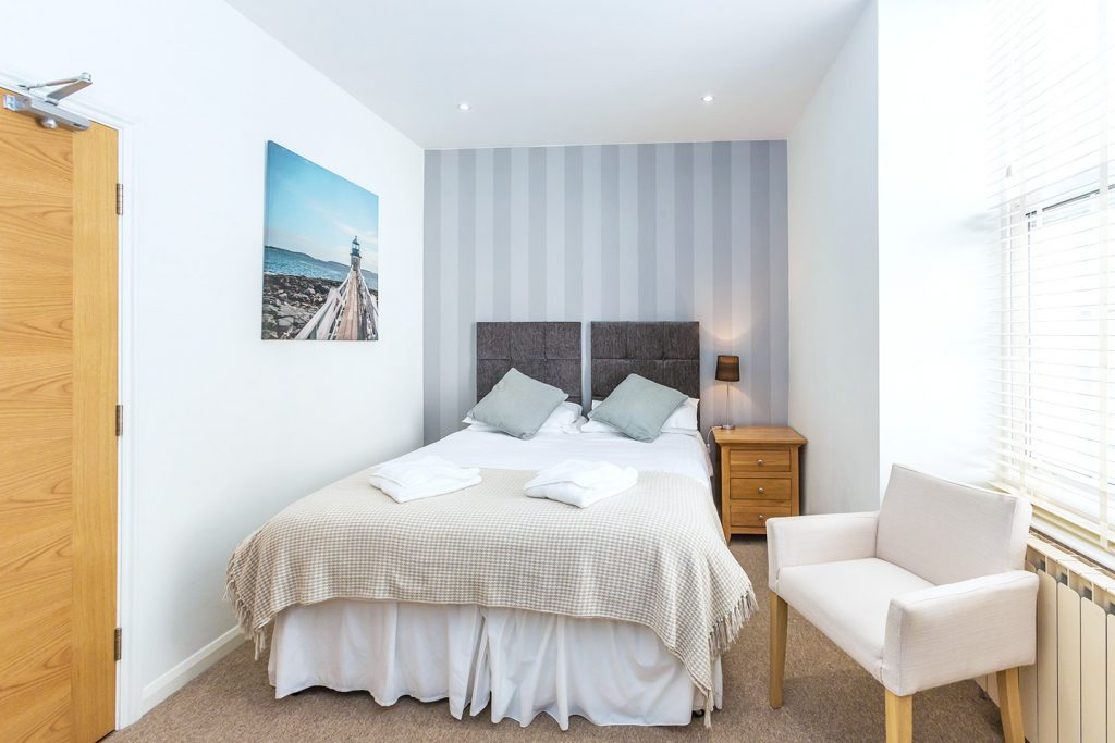 Les Cotils Guernsey - Sea View Twin/Double Room